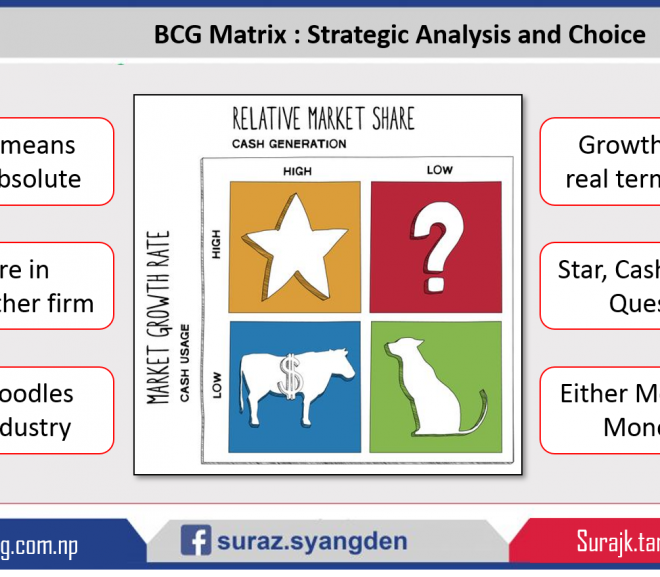 BCG Matrix : Strategic Analysis and Choice