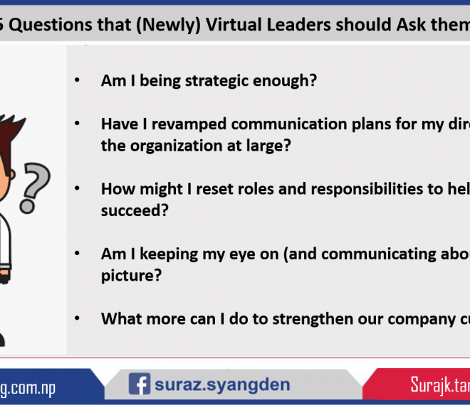 5 Questions That (Newly) Virtual Leaders Should Ask Themselves